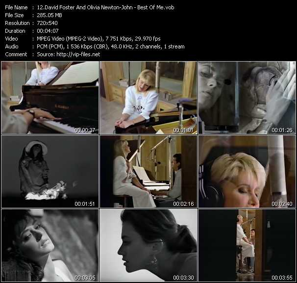 David Foster And Olivia Newton-John video screenshot