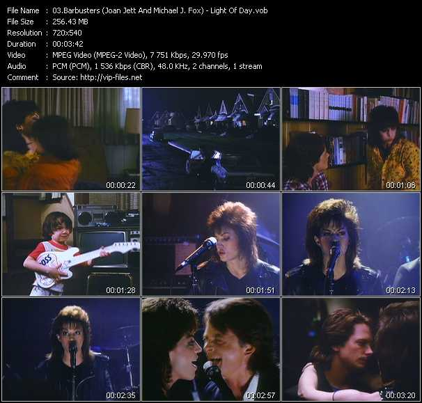 Barbusters (Joan Jett And Michael J. Fox) video screenshot