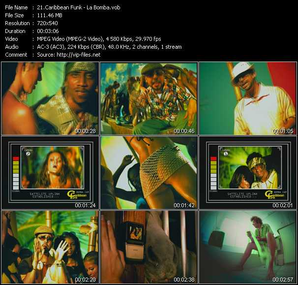 Caribbean Funk video screenshot