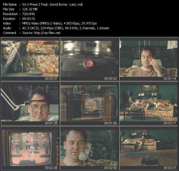 X-Press 2 Feat. David Byrne video screenshot