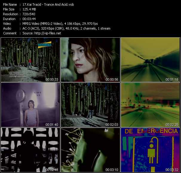 Kai Tracid video screenshot