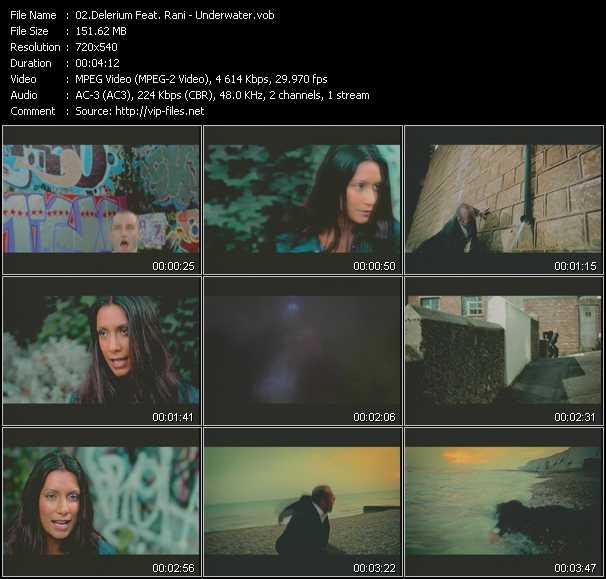 video Underwater screen