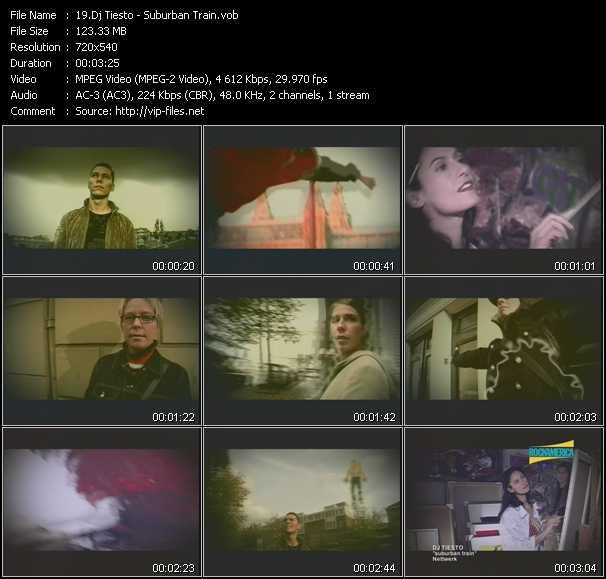 video Suburban Train screen