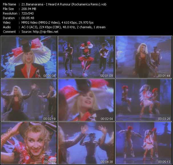 Bananarama video screenshot