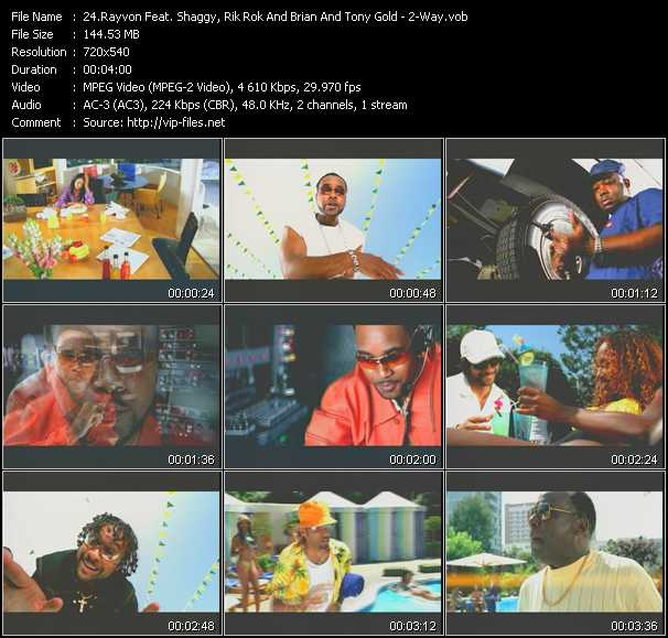 Rayvon Feat. Shaggy, Ricardo Rik Rok Ducent And Brian And Tony Gold video screenshot