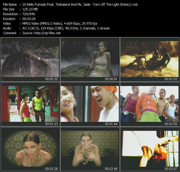 Nelly Furtado Feat. Timbaland And Ms. Jade video screenshot
