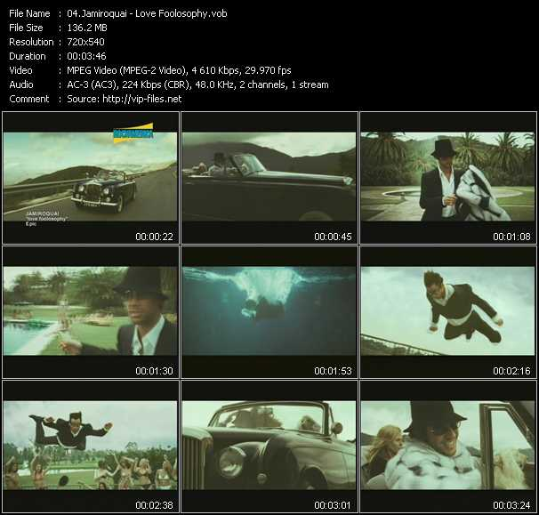 video Love Foolosophy screen