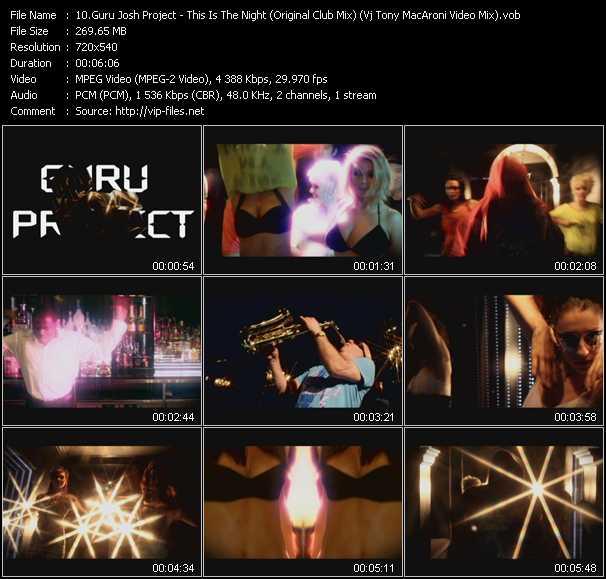 Guru Josh Project video screenshot