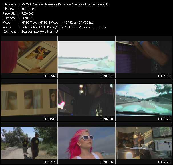Willy Sanjuan Presents Papa Joe Aviance video screenshot