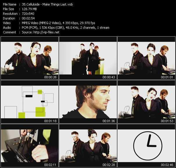 Celluloide video screenshot