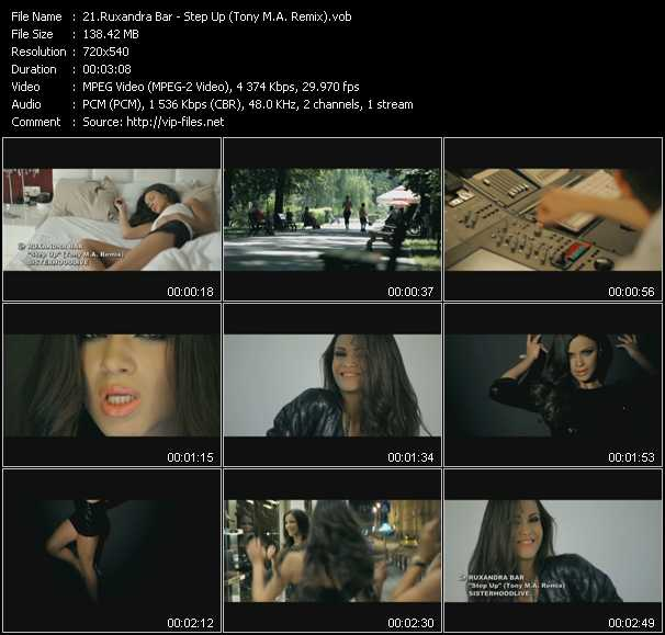 video Step Up (Tony M.A. Remix) screen