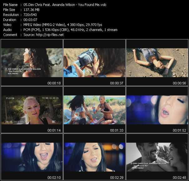 Dim Chris Feat. Amanda Wilson video screenshot