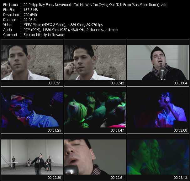 Philipp Ray Feat. Nevermind video screenshot