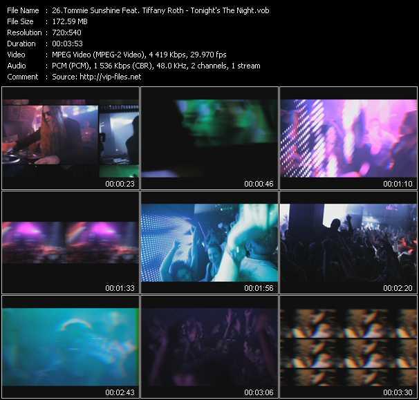 Tommie Sunshine Feat. Tiffany Roth video screenshot