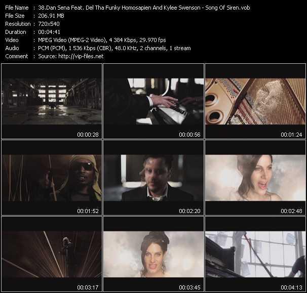 Dan Sena Feat. Del The Funky Homosapien (Del Tha Funkee Homosapien) And Kylee Swenson video screenshot