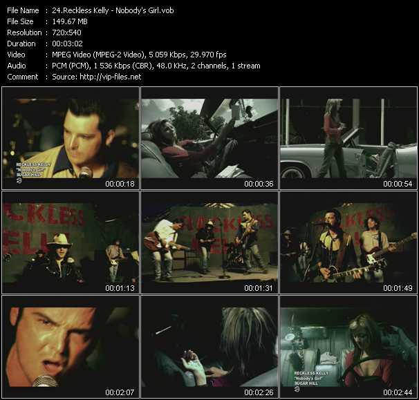 Reckless Kelly video screenshot