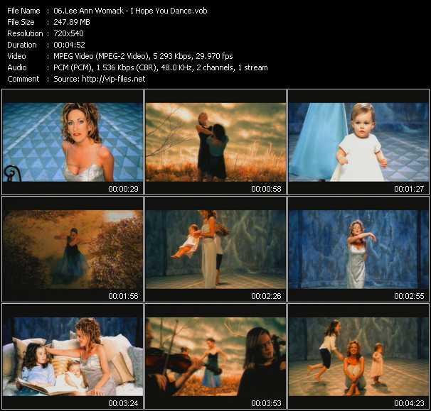 Lee Ann Womack video screenshot