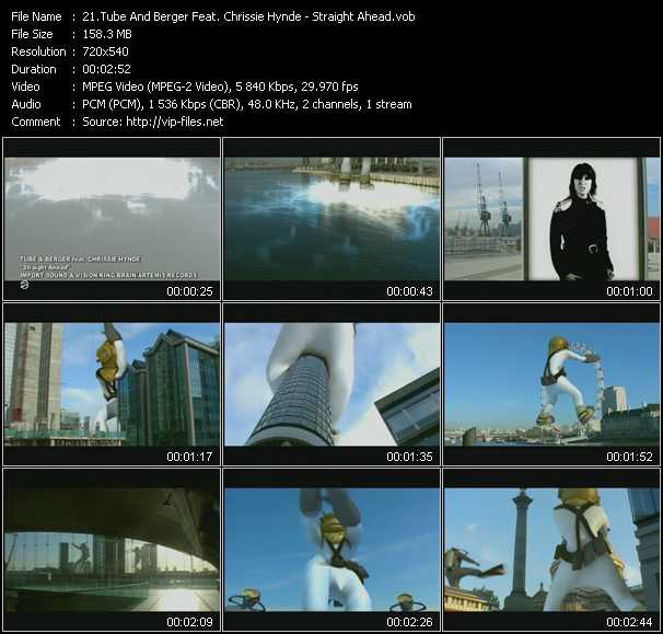 Tube And Berger Feat. Chrissie Hynde video screenshot