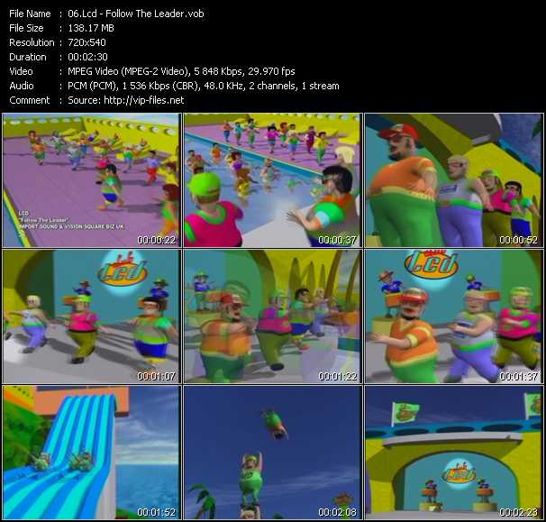 Lcd video screenshot
