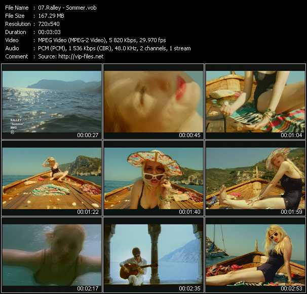 Ralley video screenshot