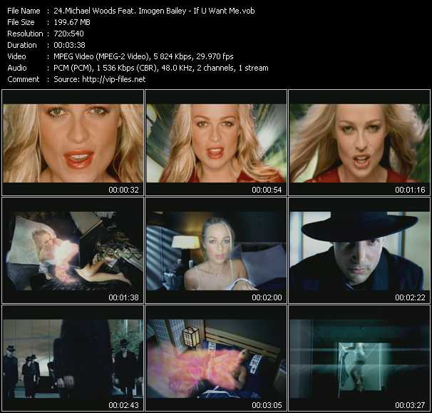 Michael Woods Feat. Imogen Bailey video screenshot
