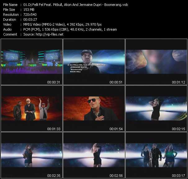 Dj Felli Fel Feat. Pitbull, Akon And Jermaine Dupri video screenshot
