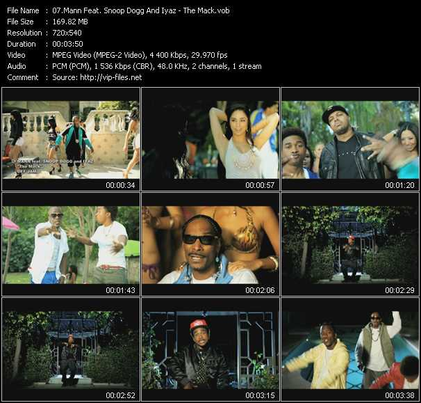 Mann Feat. Snoop Dogg And Iyaz video screenshot