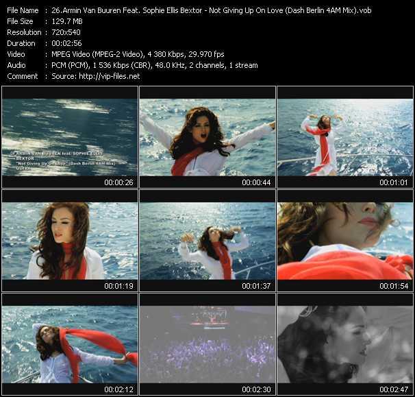 Armin Van Buuren Feat. Sophie Ellis-Bextor video screenshot