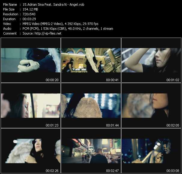 Adrian Sina Feat. Sandra N video screenshot