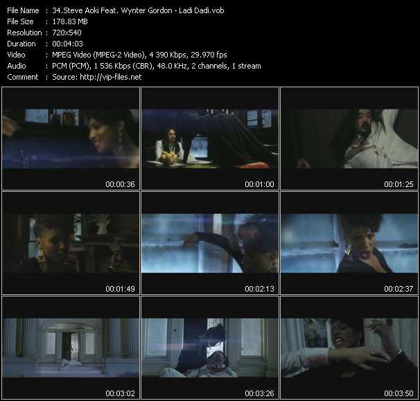 Steve Aoki Feat. Wynter Gordon video screenshot