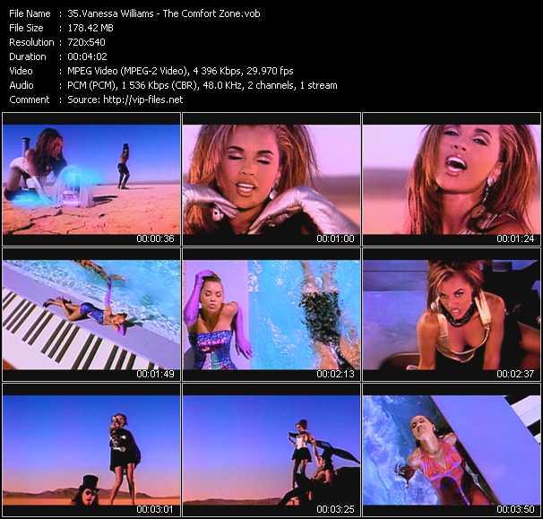 Vanessa Williams video screenshot