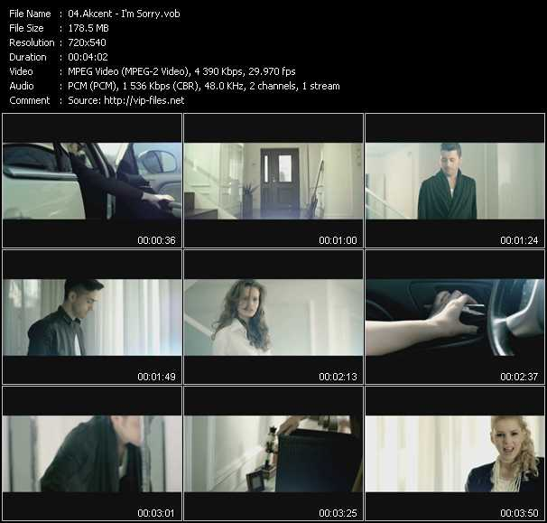Akcent video screenshot