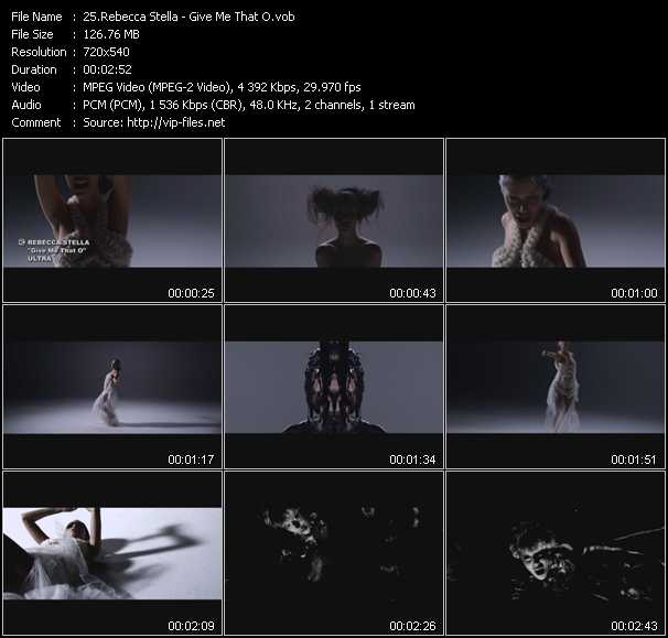 Rebecca Stella video screenshot