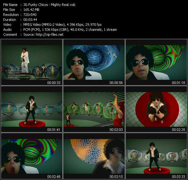 Funky Chicos video screenshot