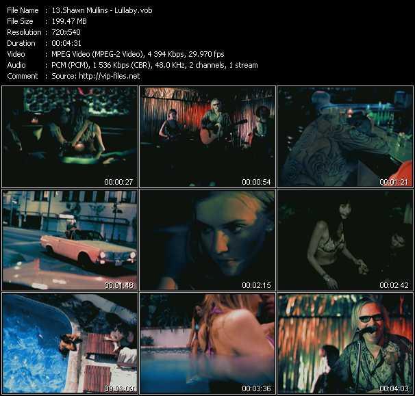Shawn Mullins video screenshot