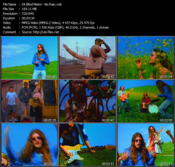 Blind Melon video screenshot