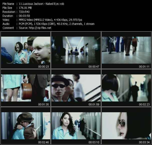 Luscious Jackson video screenshot