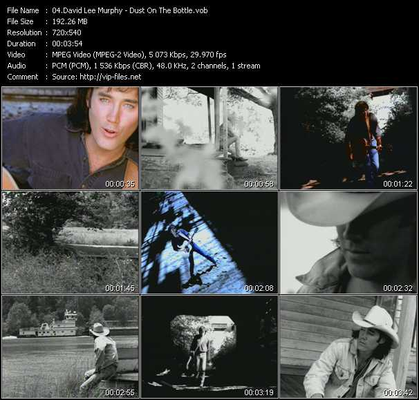 David Lee Murphy video screenshot