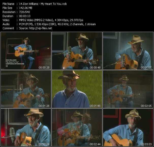 Don Williams video screenshot