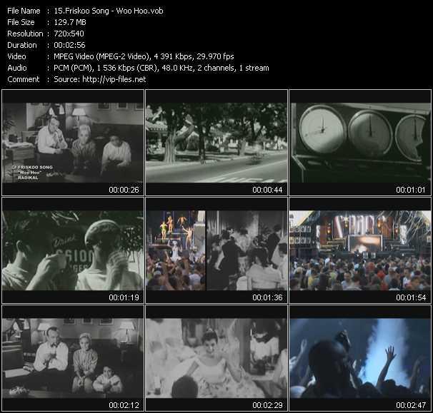 Friskoo Song video screenshot