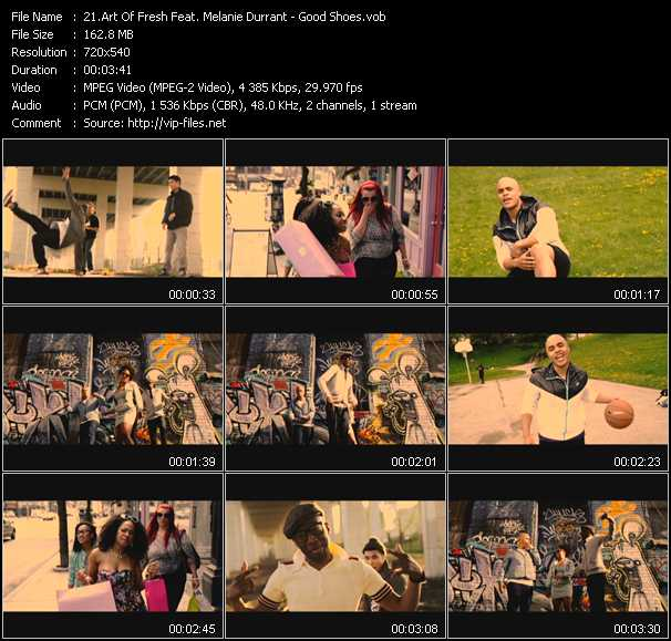 Art Of Fresh Feat. Melanie Durrant video screenshot