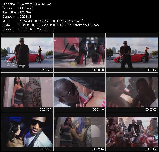 Dmaze video screenshot