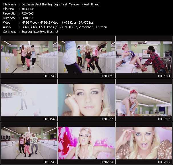 Jessie And The Toy Boys Feat. Yelawolf video screenshot