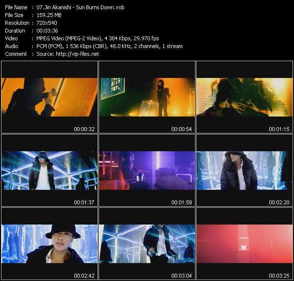 Jin Akanishi video screenshot