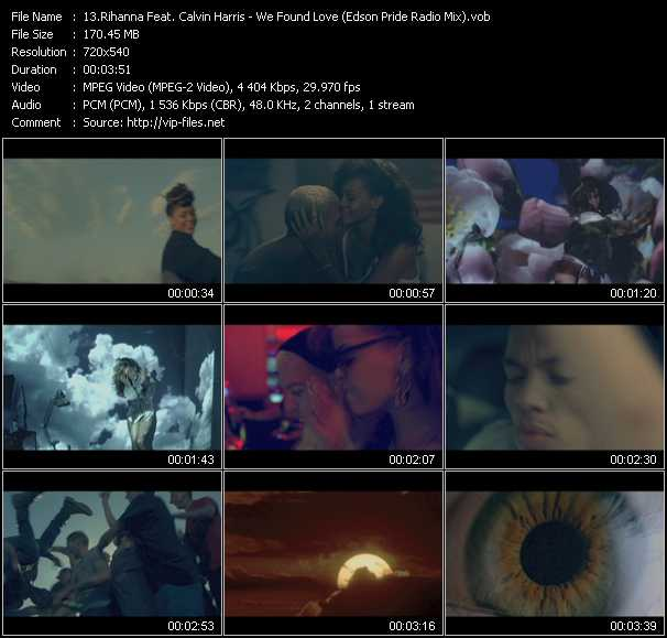 Rihanna Feat. Calvin Harris video screenshot