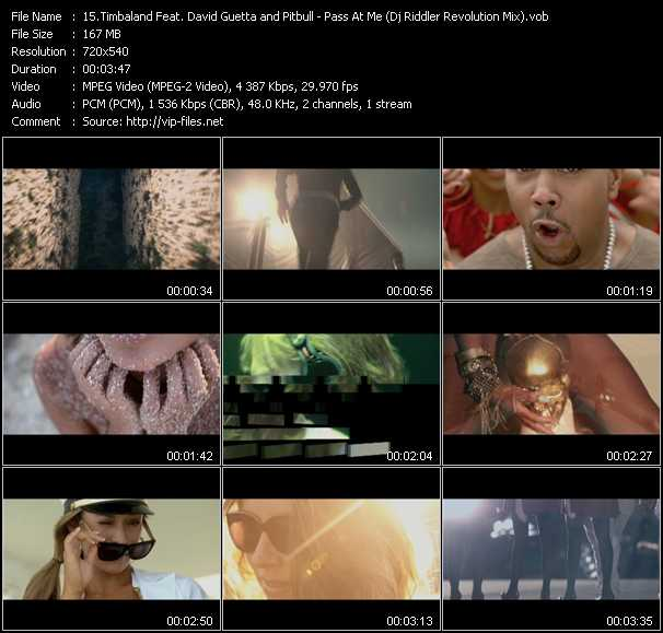 Timbaland Feat. David Guetta And Pitbull video screenshot