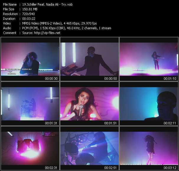 Schiller Feat. Nadia Ali video screenshot