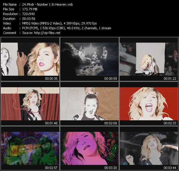 Mndr video screenshot