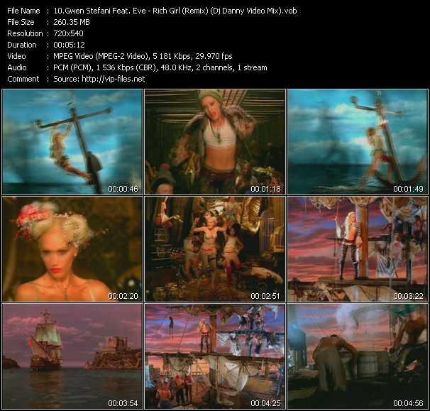 video Rich Girl (Remix) (Dj Danny Video Mix) screen