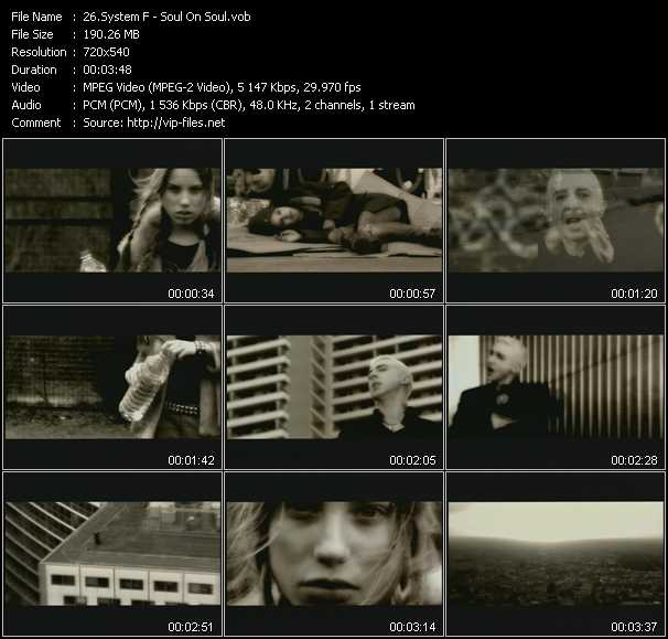 System F video screenshot